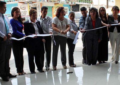 Inauguración del Instituto Técnico Particular Leona Vicario