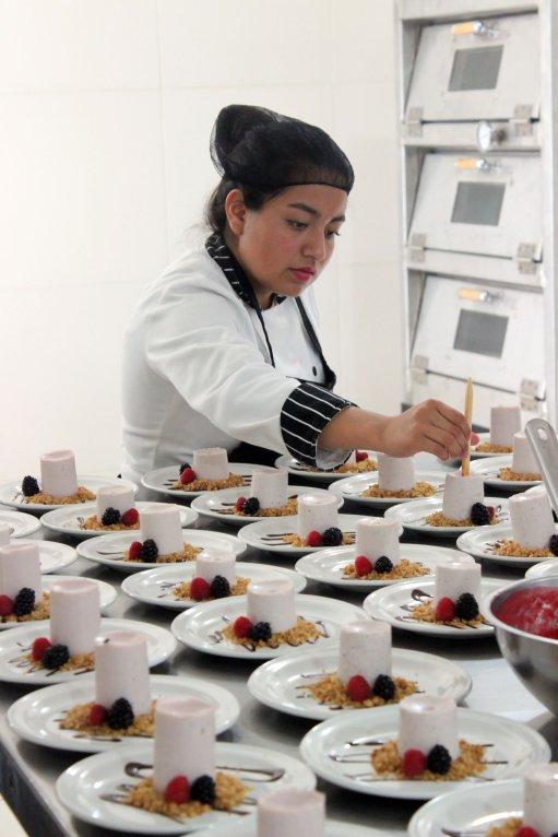 Laboratorio de Cocina Fría del Instituto Tecnológico Particular Leona Vicario