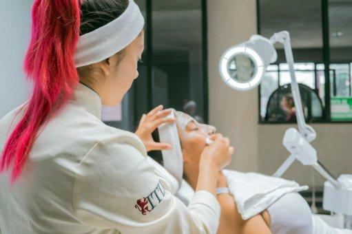 Laboratorio de Cosmetología en ITLV de San Martín Texmelucan