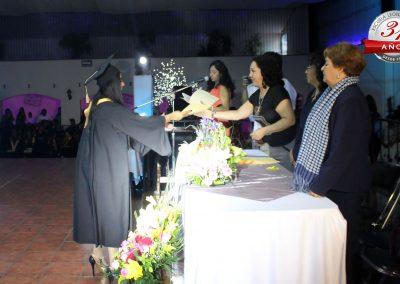 Vida estudiantil - Graduación de Cosmetología en San Martín Texmelucan