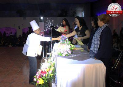 Vida estudiantil - Graduación de Gastronomía en San Martín Texmelucan